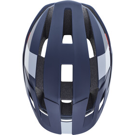 Fox Flux Wide Open Helmet Herren navy/white